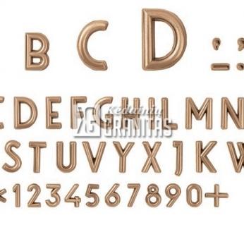 Lorenzi bronzinės raidės
